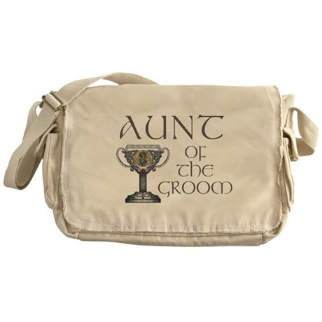 Celtic Aunt of Groom Messenger Bag