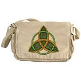 Celtic Trinity Knot Messenger Bag