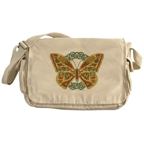 Celtic Butterfly Messenger Bag