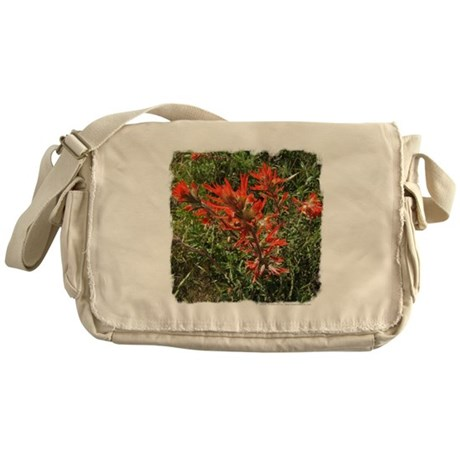 Indian Paintbrush Messenger Bag