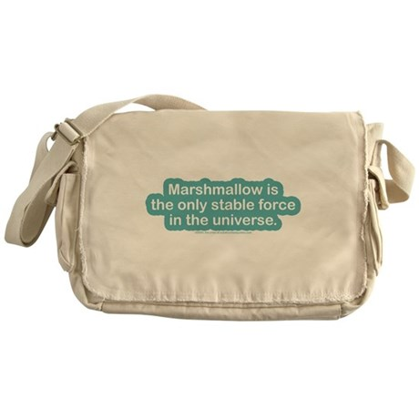 Marshamallow Stable Force Messenger Bag