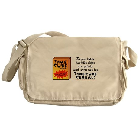 Time Cube Cereal Messenger Bag