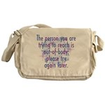 Out of Body Messenger Bag