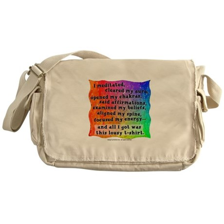 Spiritual Lousy T-Shirt Messenger Bag