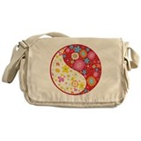 Yin Yang Messenger Bag