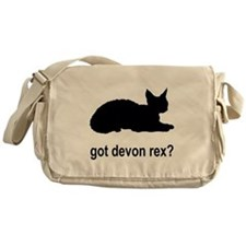 Got Devon Rex? Messenger Bag