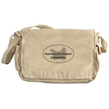 Norwegian Forest Grandma Messenger Bag