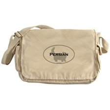 Persian Oval Messenger Bag