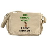 GOATS-Life Without Toggenburg Messenger Bag