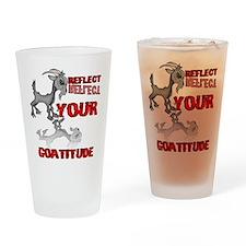 Goat Attitude Drinking Glass