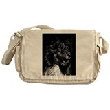 Dramatic Shetland Sheepdog Messenger Bag