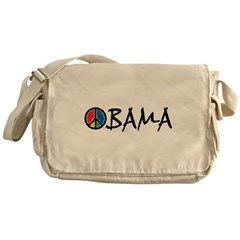 Obama Peace Messenger Bag