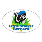 Little Stinker Bernard Sticker (Oval 10 pk)