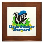 Little Stinker Bernard Framed Tile