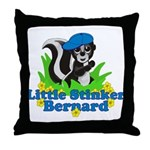 Little Stinker Bernard Throw Pillow