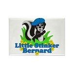 Little Stinker Bernard Rectangle Magnet
