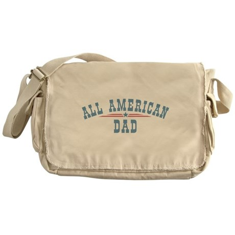 All American Dad Messenger Bag