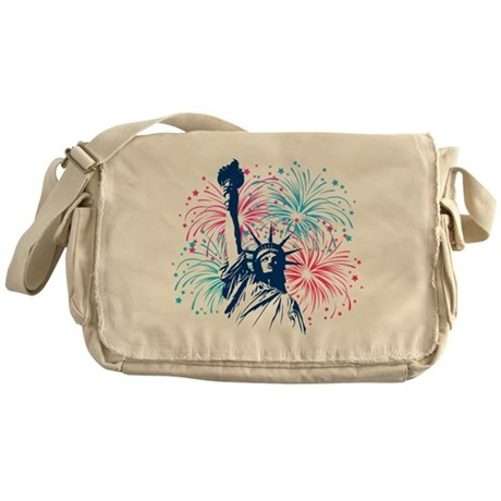 4th Of July Messenger Bag