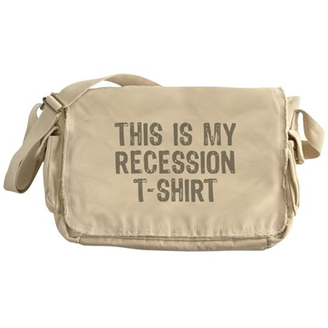 Recession Messenger Bag