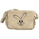 Rabbit Face Messenger Bag