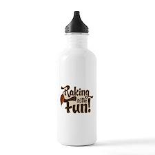 Raking in the Fun Water Bottle