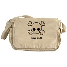 [Your text] Cute Skull Messenger Bag