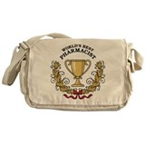 World's Best Pharmacist Messenger Bag