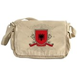 Albania Shield Messenger Bag