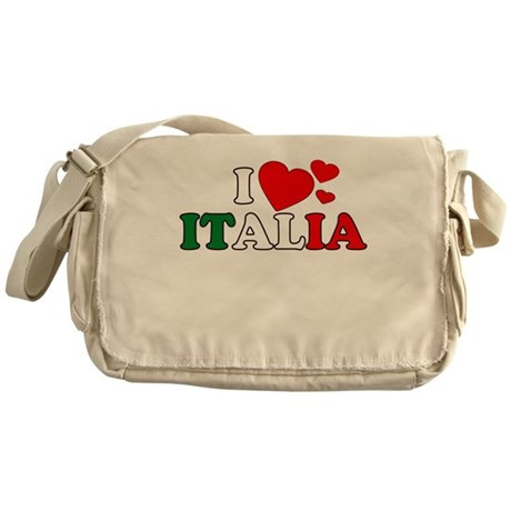 I Love Italia Messenger Bag