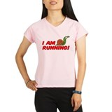 I Am Running Performance Dry T-Shirt