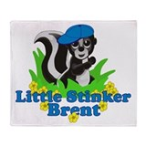 Little Stinker Brent Throw Blanket