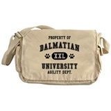 Property of Dalmatian Univ. Messenger Bag