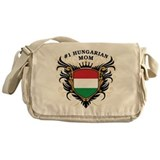 Number One Hungarian Mom Messenger Bag