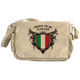 Proud to be Italian Messenger Bag