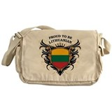 Proud to be Lithuanian Messenger Bag