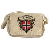 Number One Norwegian Grandpa Messenger Bag