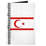 Northern Cyprus Flag Journal