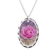 Oval Rose Necklace