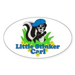 Little Stinker Carl Sticker (Oval)