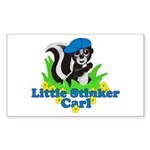 Little Stinker Carl Sticker (Rectangle 10 pk)