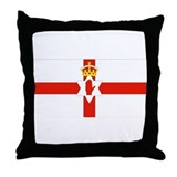 Northern Ireland Flag Throw Pillow