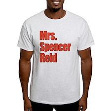 Mrs. Spencer Reid Criminal Minds T-Shirt
