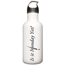Monday Yet? Sports Water Bottle