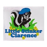 Little Stinker Clarence Throw Blanket