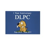 DLPC Logo Rectangle Magnet (100 pack)