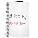 I Love My Airedale Terrier Journal