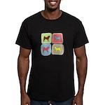 Akita Men's Fitted T-Shirt (dark)
