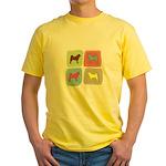 Akita Yellow T-Shirt