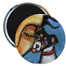 "Rattie kisses lady 2.25"" Magnet (10 pack)"