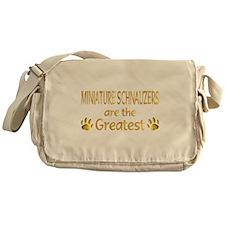 Schnauzer Messenger Bag